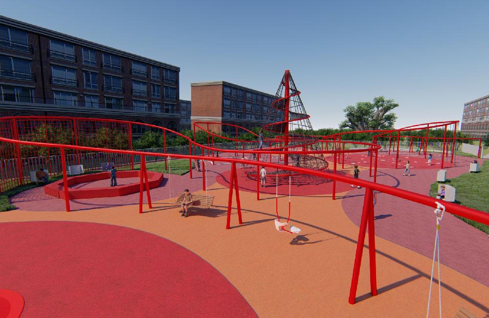 住宅社区游乐场地规划