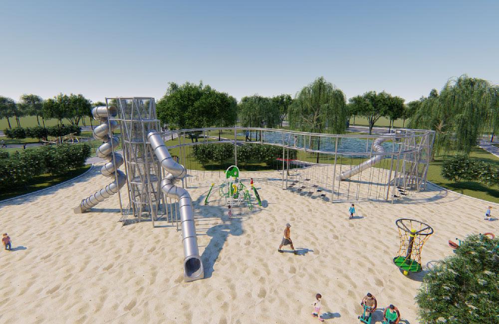 湿地公园游乐场地规划