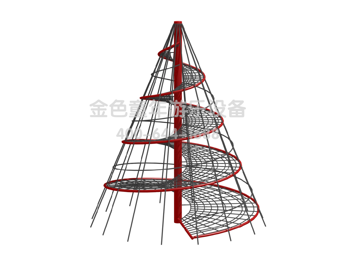 锥形塔攀爬非标定制