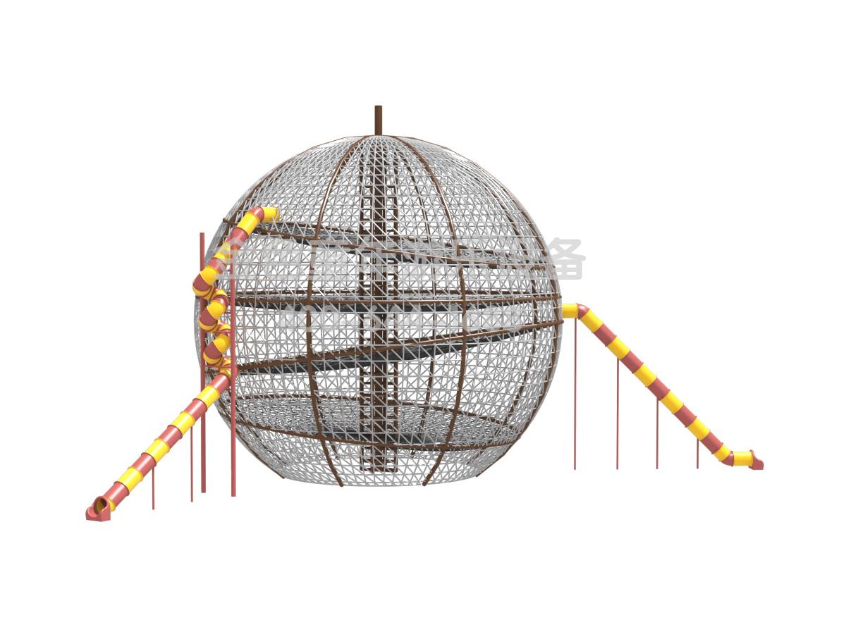 <b>巨型圆球攀爬滑梯非标定制</b>