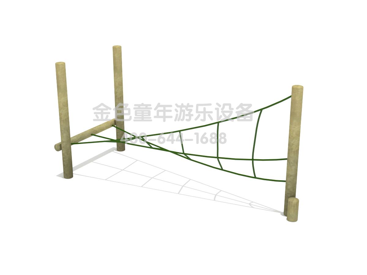 绳网平衡训练器材