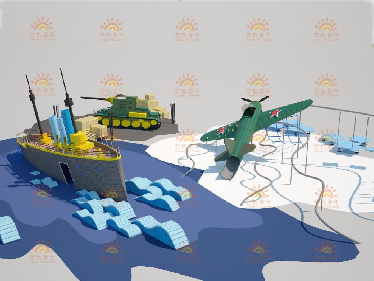 军事主题创意设计