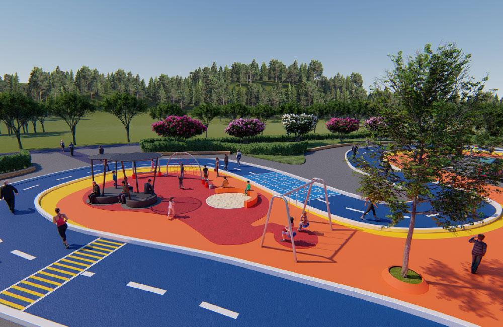 森林公园游乐场地规划