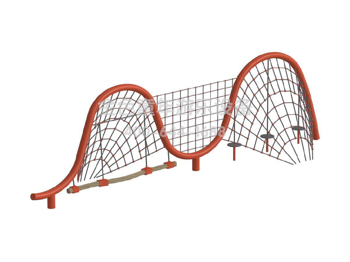 异形拓展运动攀爬架-2