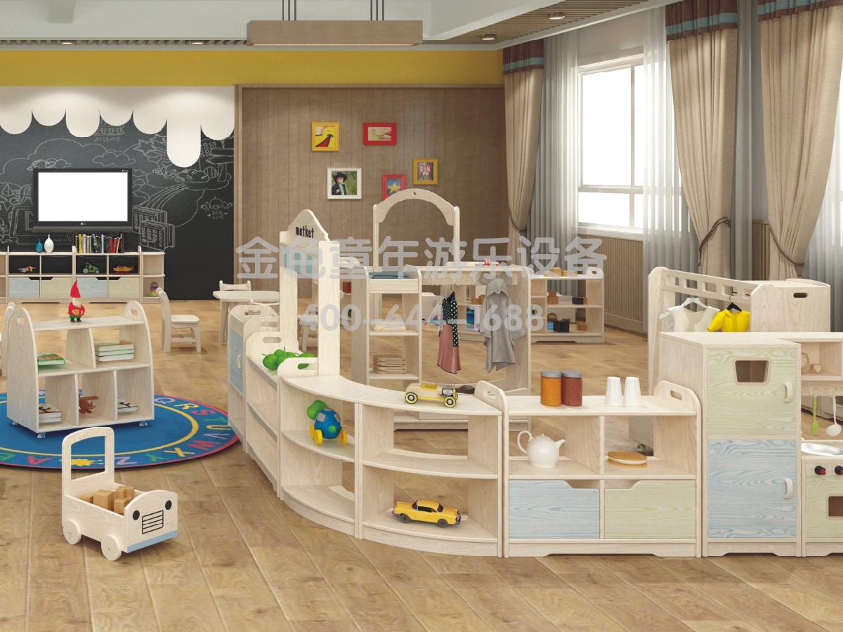 活动室幼儿园组合柜