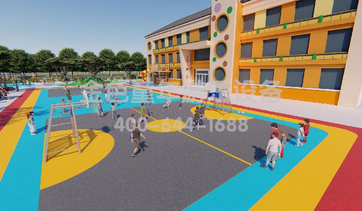 小区游乐设施设计