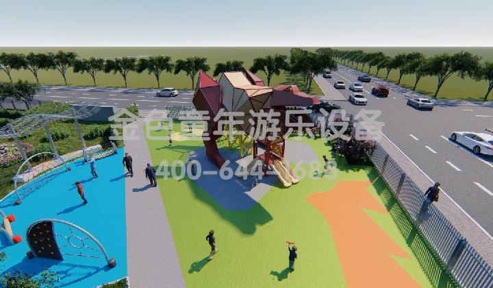 人流密集的公园应该如何选择游乐设施