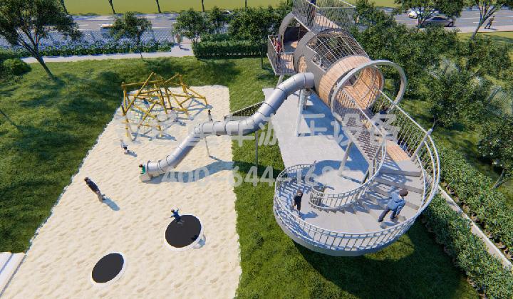 学龄前儿童游乐场的设计理念和创新