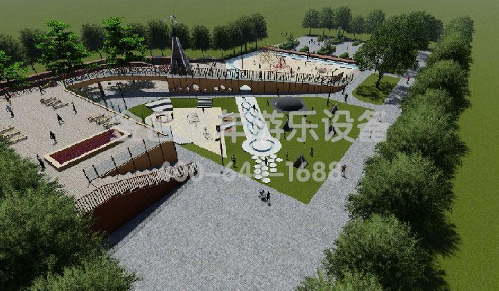 儿童文旅公园的空间设计